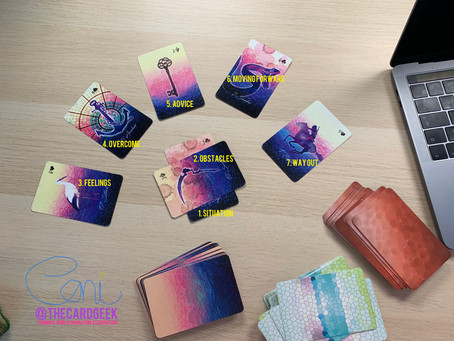 The Magma Spread - Lenormand, Kipper & Gypsy Cards