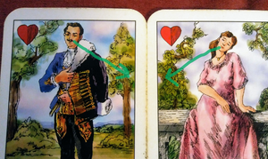 Lover & Sweetheart Gypsy Cards