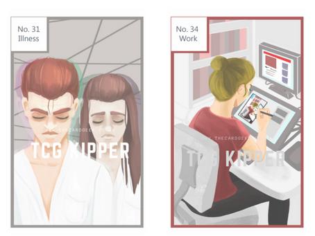 Kipper Cards - Simple Spreads