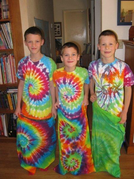 Tie Dye games