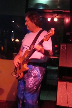 John is rockin out in tie dye