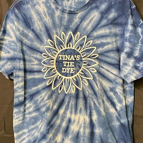 Tina's Tie Dye Logo Short Sleeve T