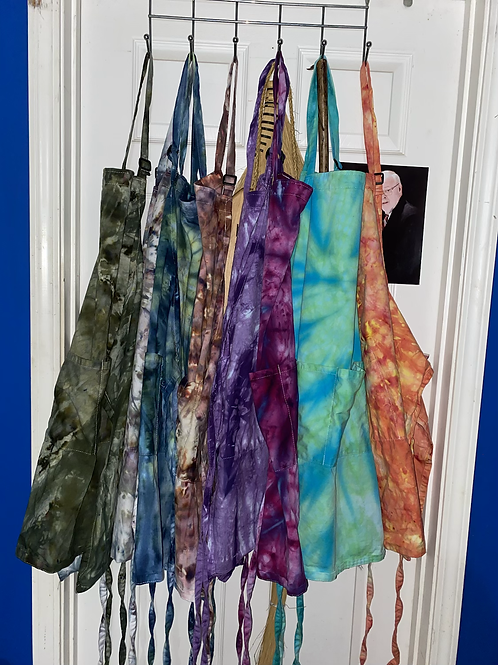 Ice Dyed Apron from IG Post