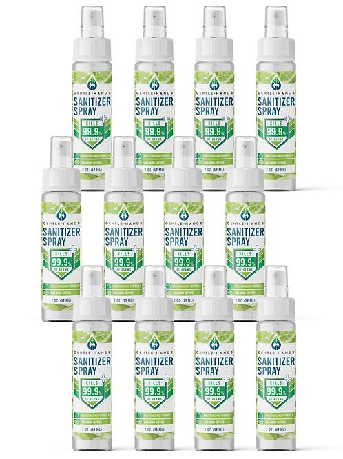 12-Pack 2 oz Calming Citrus Sanitizer Spray