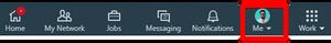 Linkedin Navigation Bar