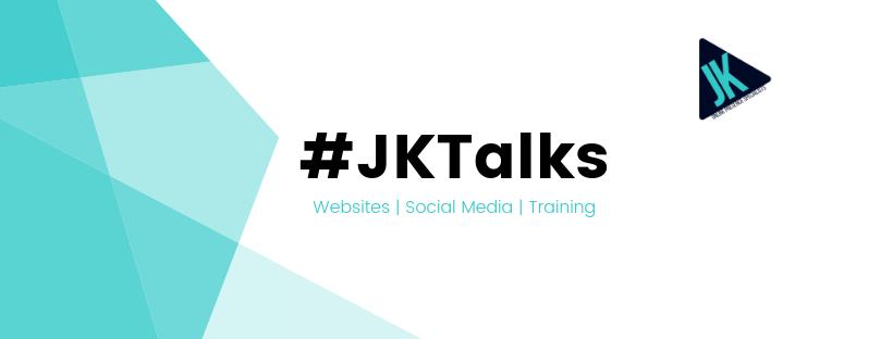 #jktalks, website, social media, training