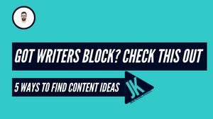 5 ways to find content ideas