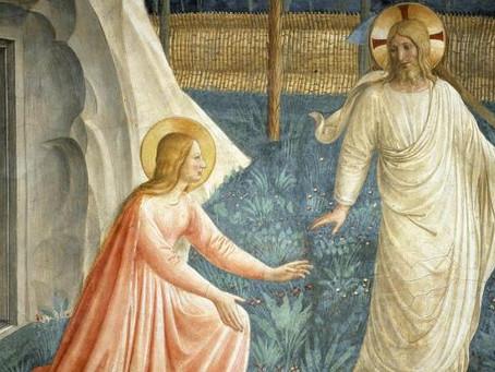 Santa María Magdalena, cercana al Maestro