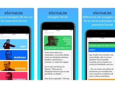 La creación de 'eScrivaLite App'