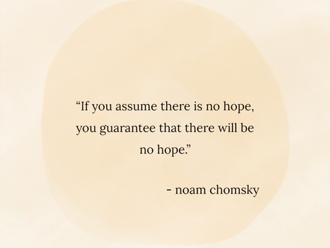 On Hope by Erasmo