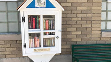 "There's a new ""Little Free Library"" in Town"
