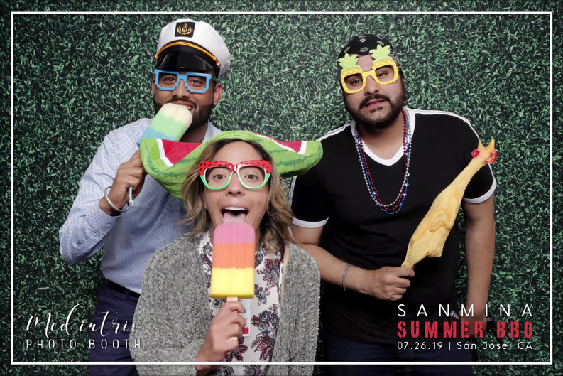 Sanmina's Summer BBQ (GIFS)