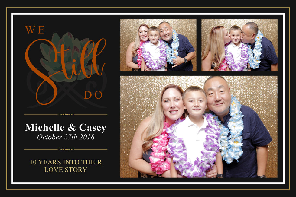 Michelle & Casey's 10 Years Wedding Anniversary (Output Images)