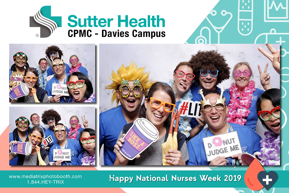 Nurses Week 2019 - Sutter Health CPMC Davies  (Output Images)