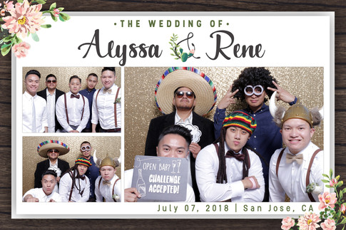 Alyssa & Rene's Wedding (Output Images)