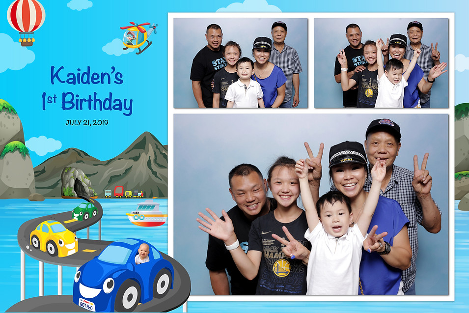 Kaiden's 1st Birthday (Output Images)