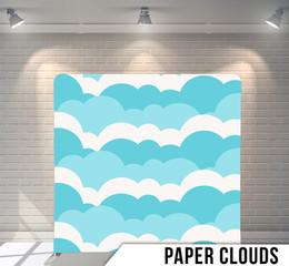 Premium Paper Clouds  (Pillowcase)
