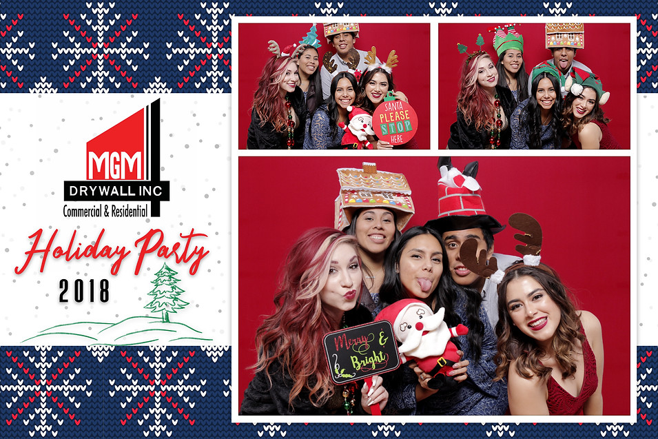 MGM Drywall, Inc.'s Holiday Party 2018 (Output Images)