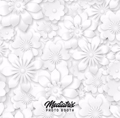 Premium White Flowers (Pillowcase)