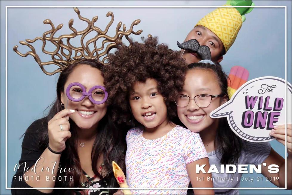 Kaiden's 1st Birthday (GIFS)