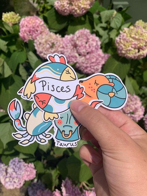Zodiac Stickers Bundle