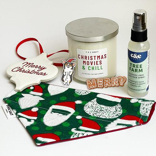 Holiday Bundle | Dog Bandana, Candles, Ornament & More!