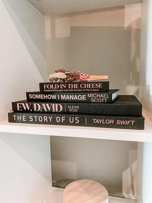Decorative Pop Culture Books | Coffee Table Books