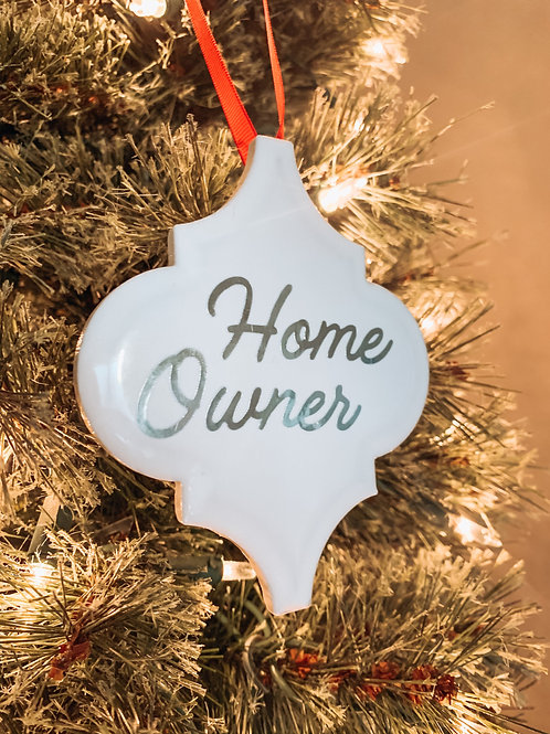 Home Owner Ornament