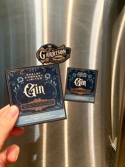 Shelby Company LTD Gin | Peaky Blinders | Magnet | Car Magnet