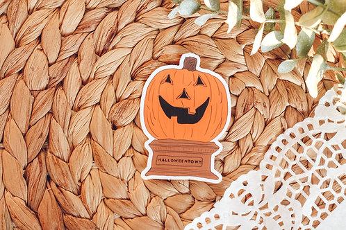 Halloweentown Halloween Sticker