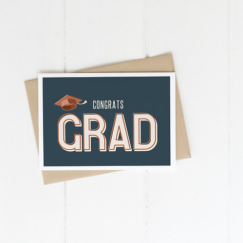Congrats Grad! | Graduation Card | Congrats Grad