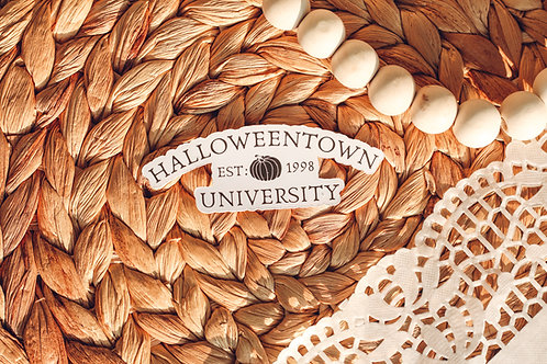 Halloweentown University Halloween Sticker