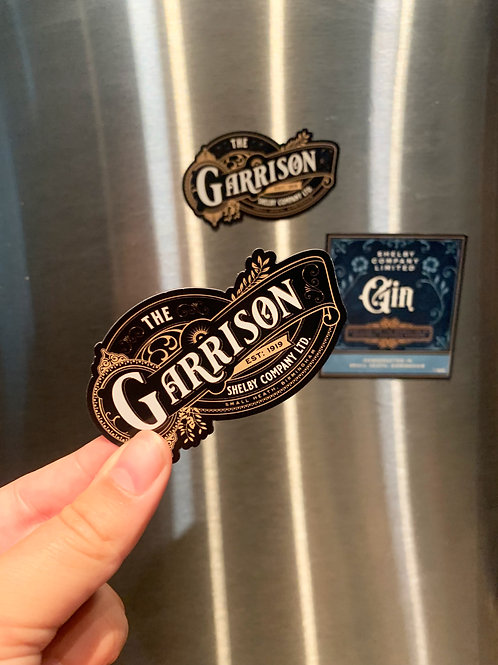 The Garrison Magnet | Shelby Company LTD | Peaky Blinders | Magnet | Car Magnet
