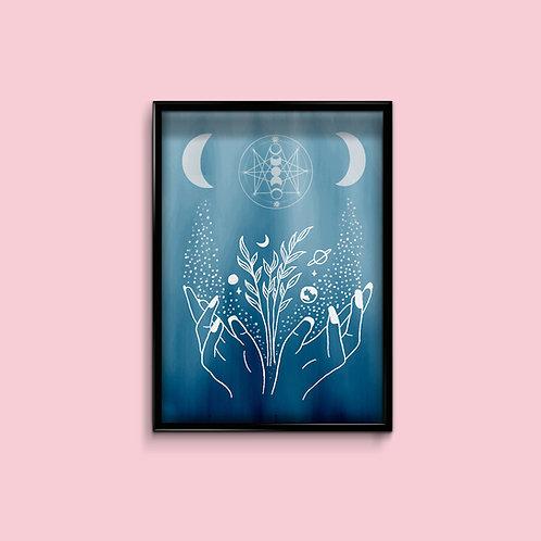 Mystical Magic Art Print