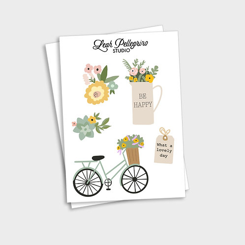 Spring Sticker Sheet
