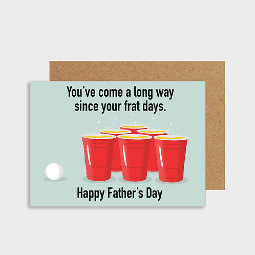 Frat Father's Day Card