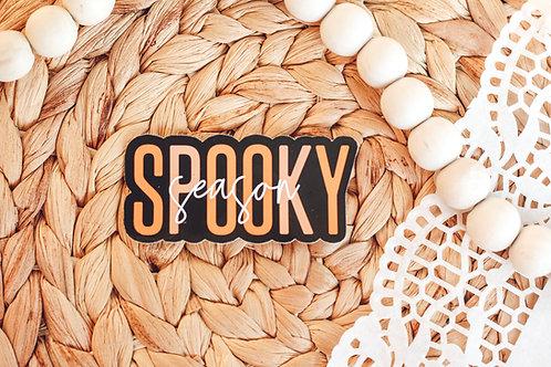 Spooky Season Halloween Sticker