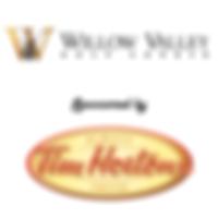 Scoring Logo Willow Valley & Tim Hortons