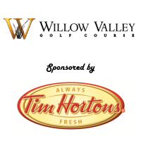 Scoring Logo Willow Valley & Tim Hortons