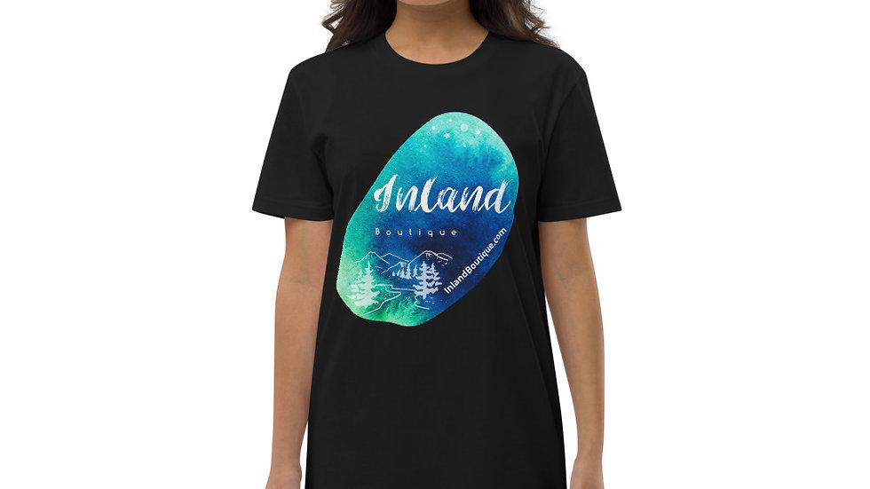 Boutique Inland Logo - organic cotton t-shirt dress