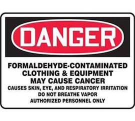 OSHA Training:  Hazard Communication vs. Formaldehyde