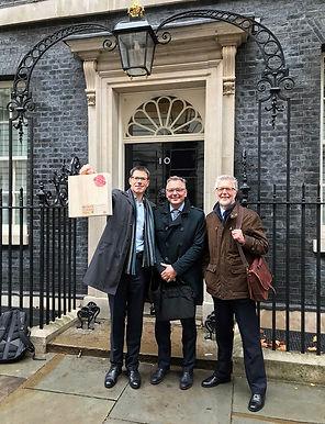 WPA team go to Downing Street