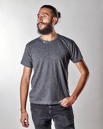 Camiseta cuello sencillo en algodon PIMA