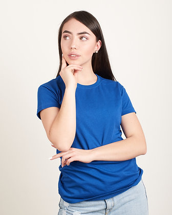 Cuello sencillo Licra femenina