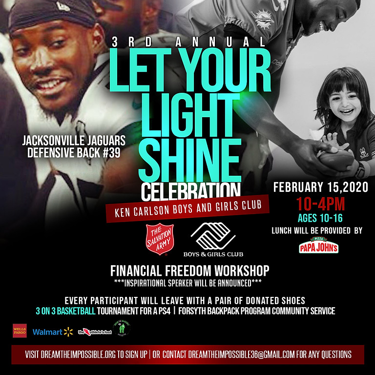 3rd Annual Let Your Light Shine Celebration