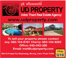 Udon Thani Businss Guide, Real Estate, UD Property
