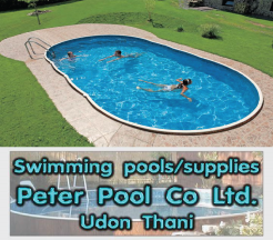Udon Thani Business Guide, Swimming Pools, Peter Pools