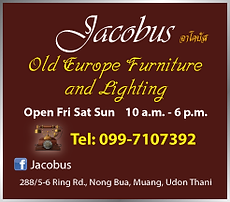 Udon Thani Business Index, Antiques, Old Furniture, Jacobus Furnishings