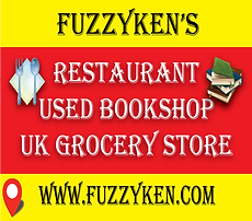 Udon Thani Business Index, Udon Thani Bookstores, Fuzzy Ken's