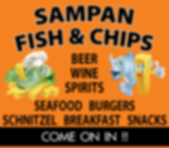 Udon Thani Resource Guide, Western Restaurants, Sampan Fish & Chips